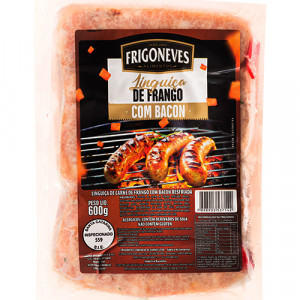 Linguiça de Frango com Bacon